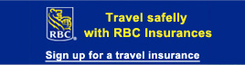 Travel safelly with RBC Insurances