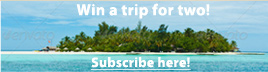 Win a trip for two to an exotic destination with Aqua Terra Travels